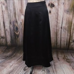 Sundance Skirts - Sundance Black Silk Maxi Skirt 14
